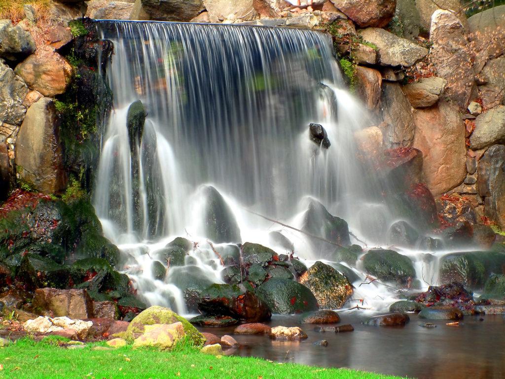 Autumn waterfall in Arnhem