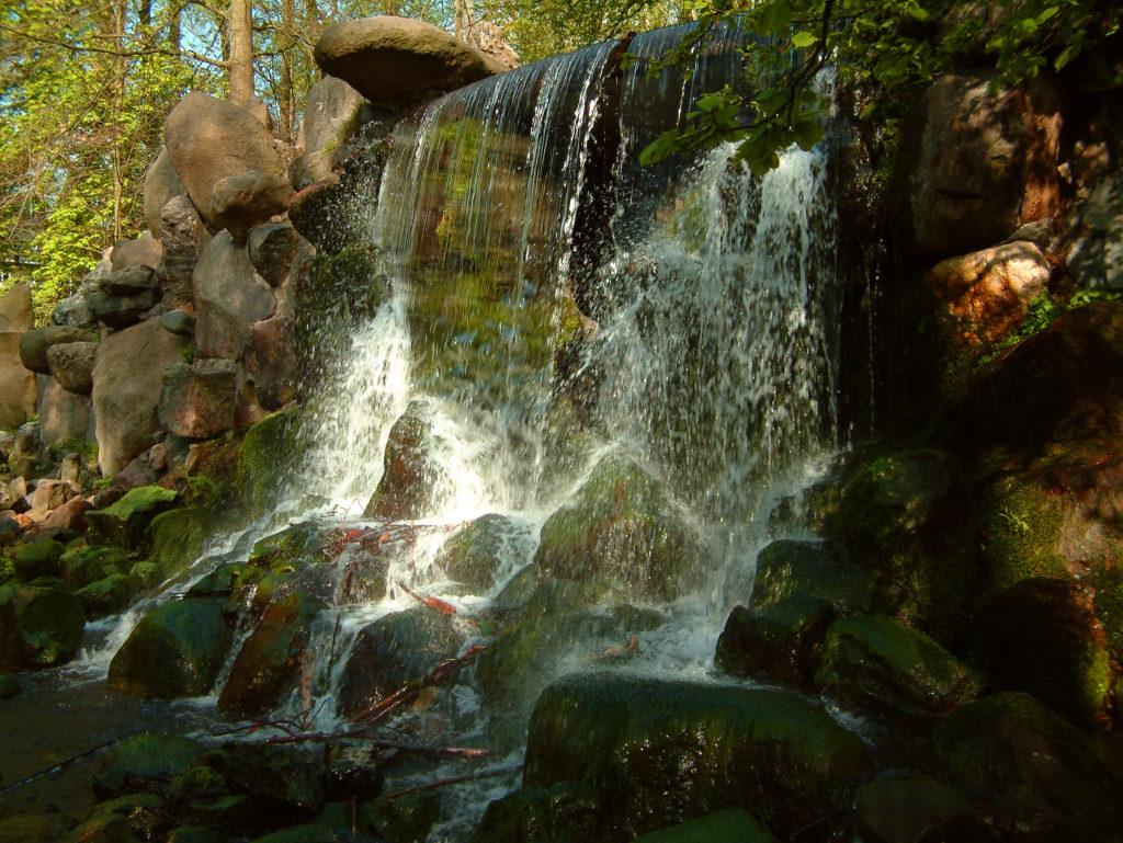 Spring waterfall in Arnhem