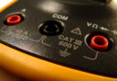 Multimeter closeup