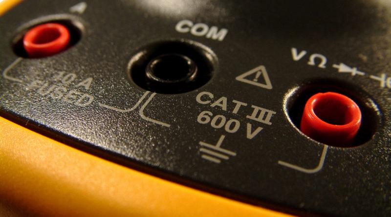 Multimeter closeup
