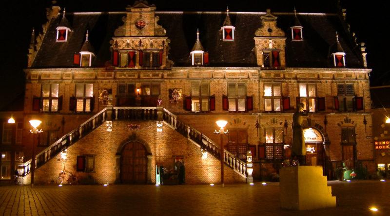 Medieval townhall in Nijmegen